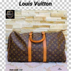 Louis Vuitton travel bag 45 keepall monogram